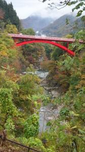 神岡の渓谷