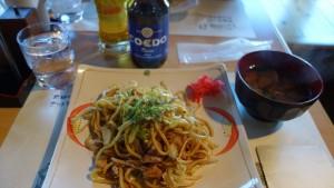 川越太麺焼きそばとCOEDO瑠璃